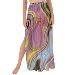 Retro Background Colorful Hippie Maxi Chiffon Tie Up Sarong