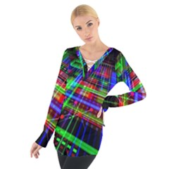 Electronics Board Computer Trace Tie Up Tee by Sapixe