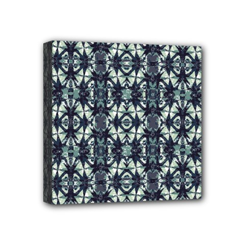 Intersecting Geometric Design Mini Canvas 4  X 4  by dflcprints