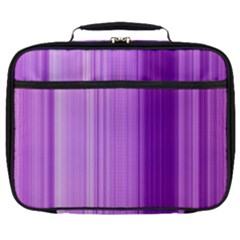 Background Texture Pattern Purple Full Print Lunch Bag