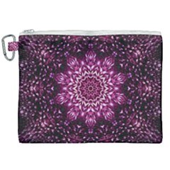 Background Abstract Texture Pattern Canvas Cosmetic Bag (xxl)