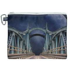 Bridge Mars Space Planet Canvas Cosmetic Bag (xxl)