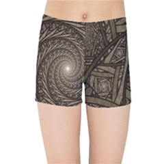Abstract Pattern Graphics Kids Sports Shorts
