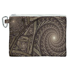 Abstract Pattern Graphics Canvas Cosmetic Bag (xl) by Sapixe