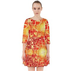 Board Conductors Circuits Smock Dress