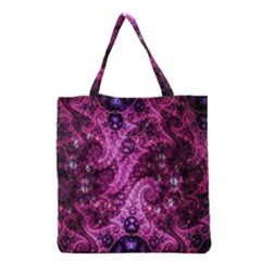 Fractal Art Digital Art Grocery Tote Bag by Sapixe