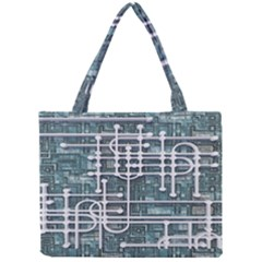 Board Circuit Control Center Mini Tote Bag by Sapixe