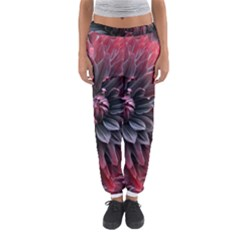 Flower Fractals Pattern Design Creative Women s Jogger Sweatpants by Sapixe