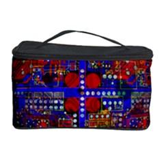 Board Interfaces Digital Global Cosmetic Storage Case by Sapixe