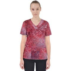 Background Texture Structure Scrub Top