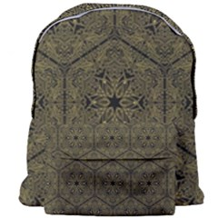 Texture Background Mandala Giant Full Print Backpack