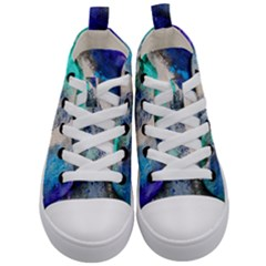 Blue Sensations Kid s Mid Top Canvas Sneakers