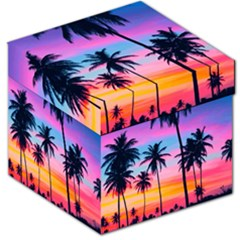 Sunset Palms Storage Stool 12   by goljakoff