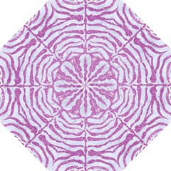 Skin2 White Marble & Purple Glitter (r) Hook Handle Umbrellas (large) by trendistuff