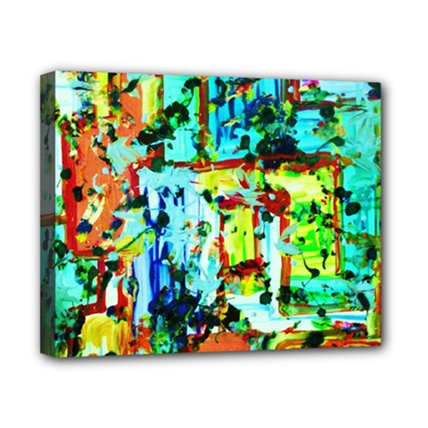 Birds   Caged And Free Canvas 10  X 8  by bestdesignintheworld