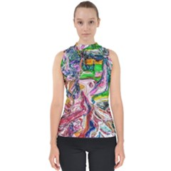 Budha Denied The Shine Of The World Shell Top