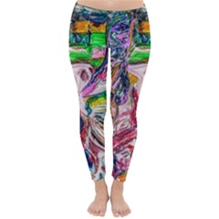 Budha Denied The Shine Of The World Classic Winter Leggings