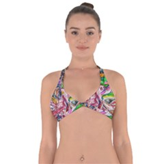 Budha Denied The Shine Of The World Halter Neck Bikini Top