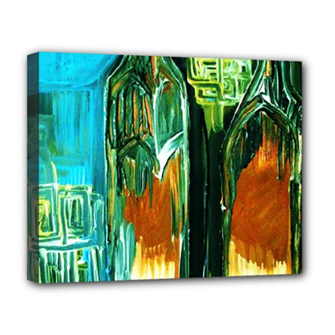 Ceramics Of Ancient Land 2 Deluxe Canvas 20  X 16