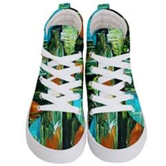 Ceramics Of Ancient Land 2 Kid s Hi Top Skate Sneakers
