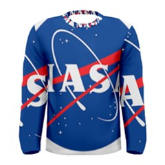 Nasa Logo Men s Long Sleeve Tee