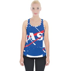 Nasa Logo Piece Up Tank Top