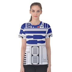 R2 Series Astromech Droid Women s Cotton Tee