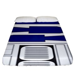 R2 Series Astromech Droid Fitted Sheet (king Size)