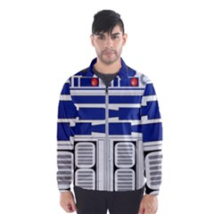 R2 Series Astromech Droid Wind Breaker (men)