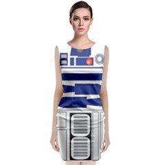 R2 Series Astromech Droid Classic Sleeveless Midi Dress