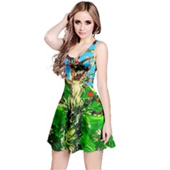 Coral Tree 2 Reversible Sleeveless Dress