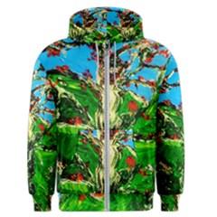 Coral Tree 2 Men s Zipper Hoodie