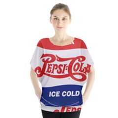 Pepsi Cola Bottle Cap Style Metal Blouse