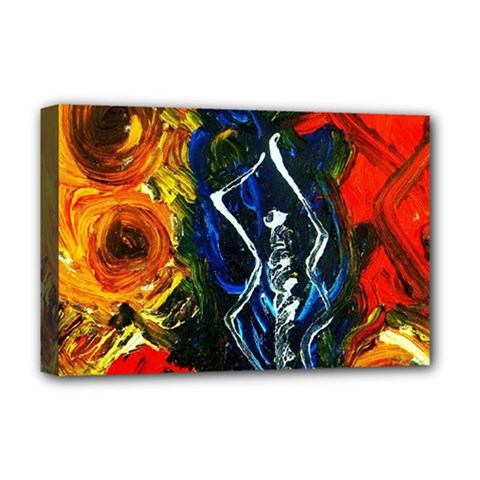 1 Butterfly 1 Deluxe Canvas 18  X 12