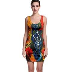 1 Butterfly 1 Bodycon Dress