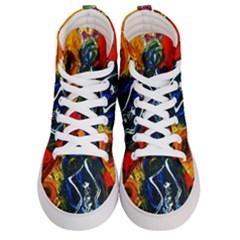 1 Butterfly 1 Men s Hi Top Skate Sneakers