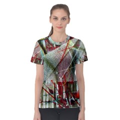 Hidden Strings Of Urity 10 Women s Sport Mesh Tee