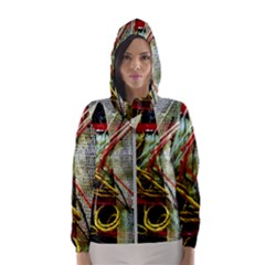 Hidden Strings Of Purity 15 Hooded Wind Breaker (women)