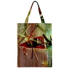 Hidden Strings Of Purity 12 Zipper Classic Tote Bag