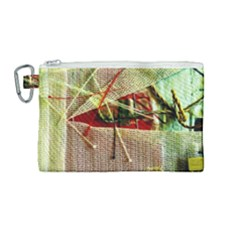 Hidden Strings Of Purity 12 Canvas Cosmetic Bag (medium)