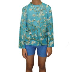 Almond Blossom  Kids  Long Sleeve Swimwear