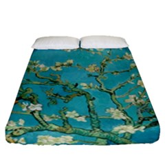 Almond Blossom  Fitted Sheet (queen Size)