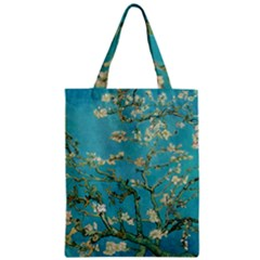 Almond Blossom  Zipper Classic Tote Bag by Valentinaart
