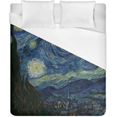 The Starry Night  Duvet Cover (california King Size) by Valentinaart