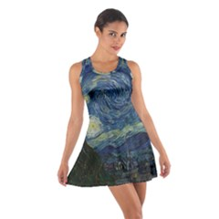 The Starry Night  Cotton Racerback Dress