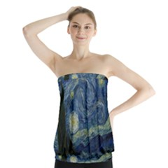 The Starry Night  Strapless Top