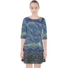 The Starry Night  Pocket Dress