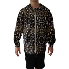 Wonderful Fantasy Pearl Flowers Landscape Hooded Wind Breaker (kids)