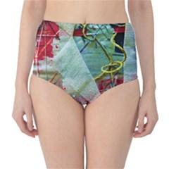 Hidden  Strings Of Purity 2 High Waist Bikini Bottoms