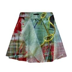 Hidden  Strings Of Purity 2 Mini Flare Skirt